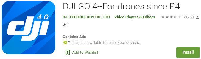 DJI App For windows