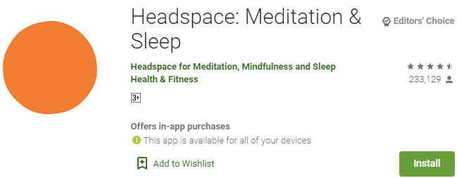 Download Headspace For Windows