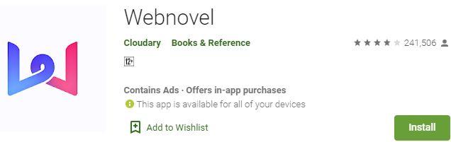 Download Webnovel For Windows