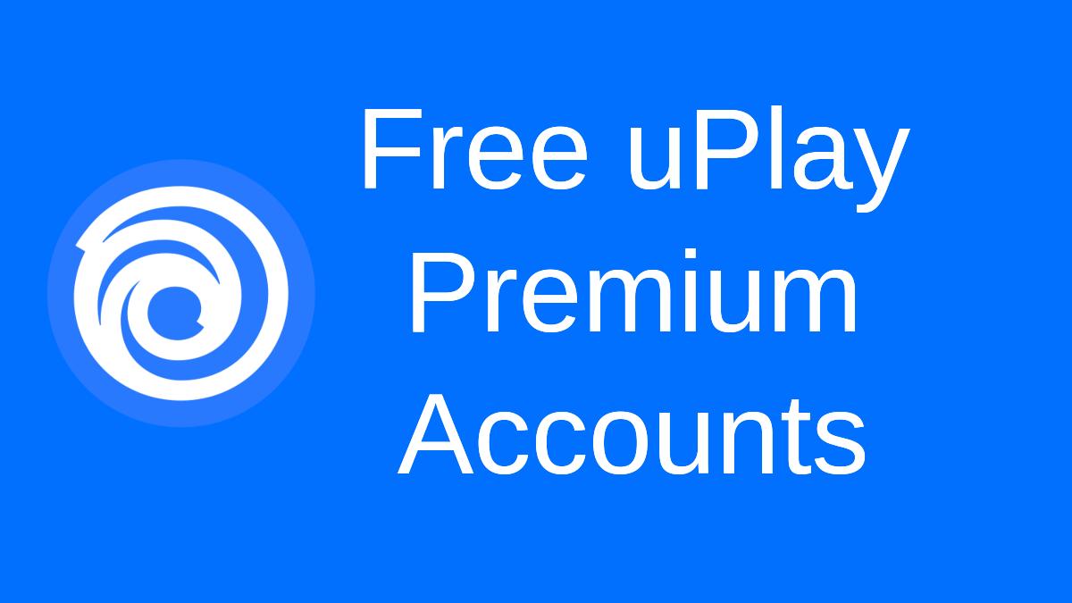 Free uPlay Accounts